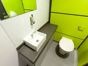 Safety Flooring in Toilet